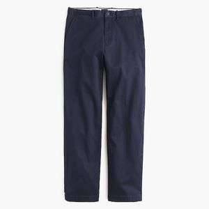 New J Crew Relaxed Fit Stretch Chinos 36/30